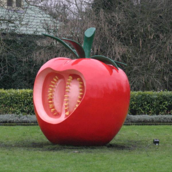opengesneden tomaat
